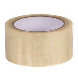 TAPE PP ACRYL 50MMX66M TRANSPARANT